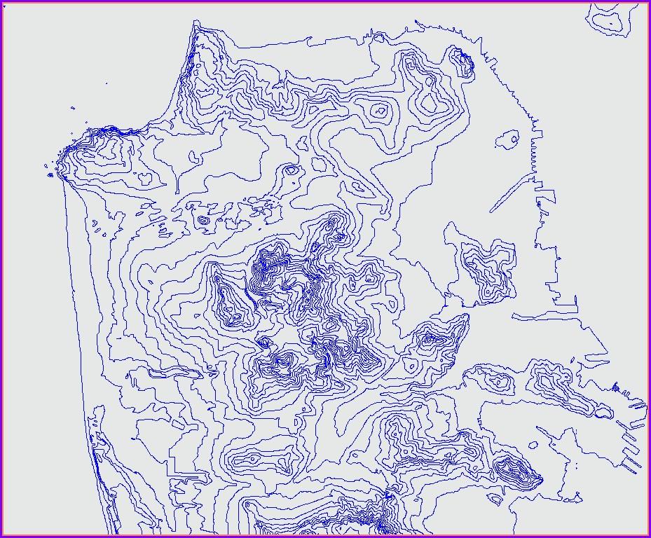 Contour Map Creator Free