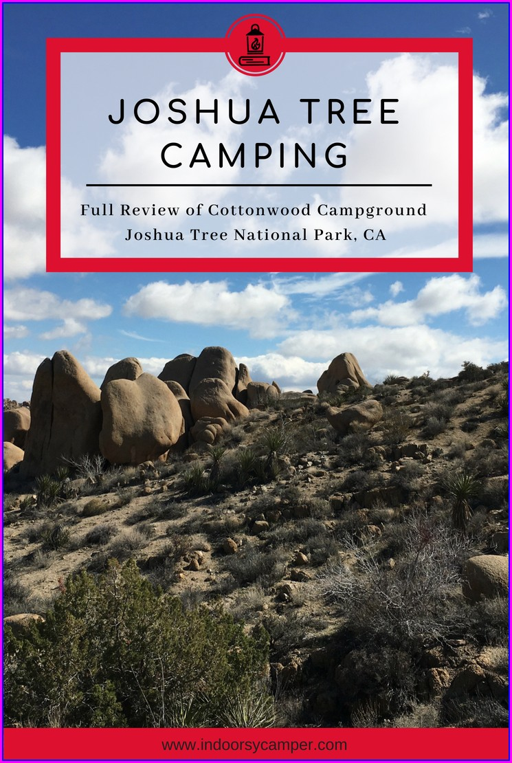 Cottonwood Campground Joshua Tree Map