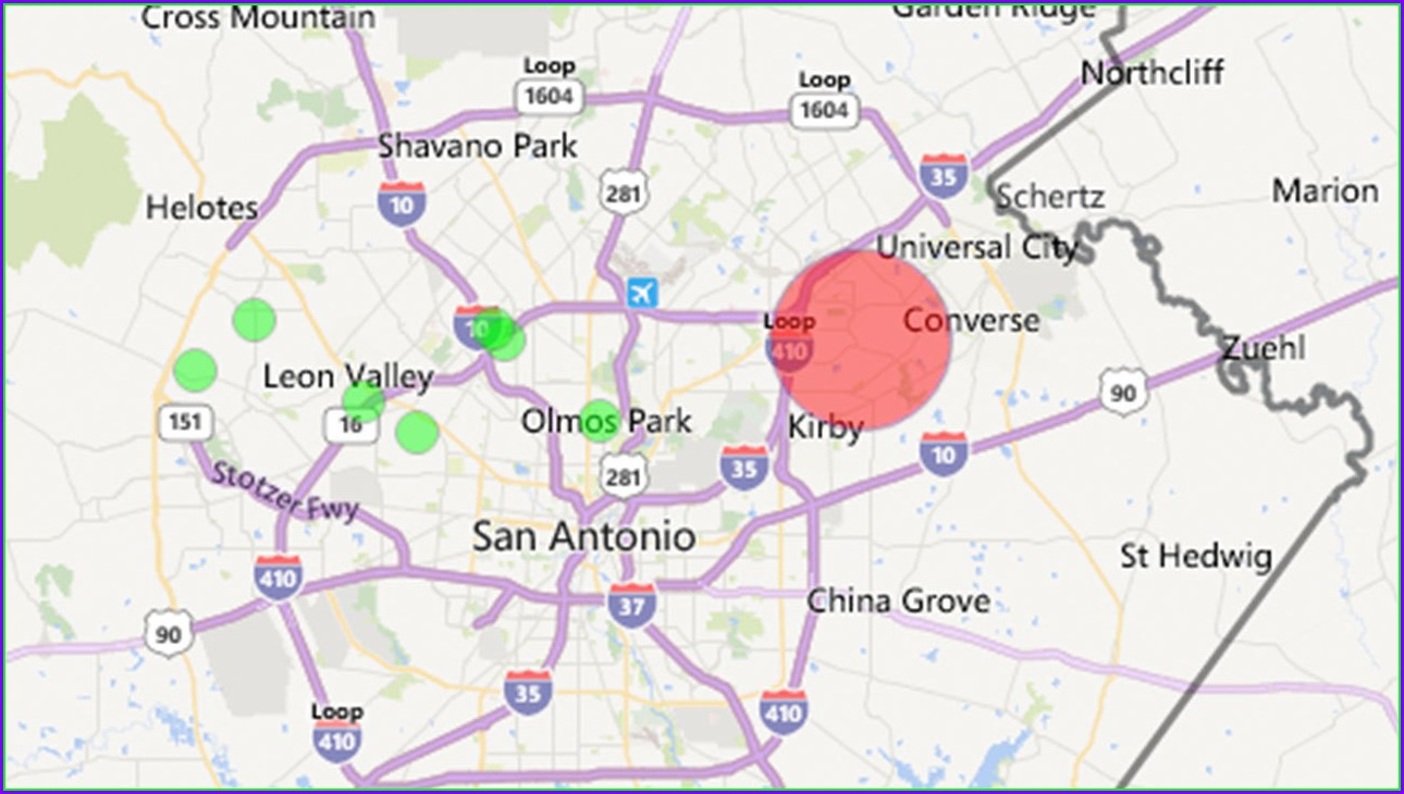 Cps Power Outage Map San Antonio