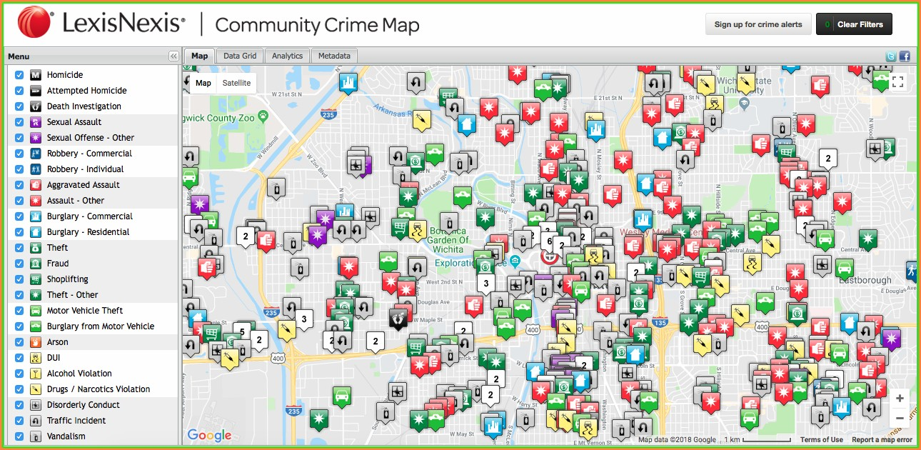 Crime Map Wichita Ks