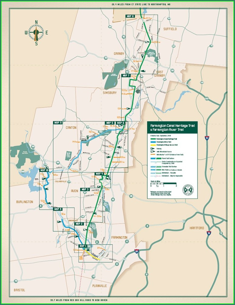 Ct Rails To Trails Map