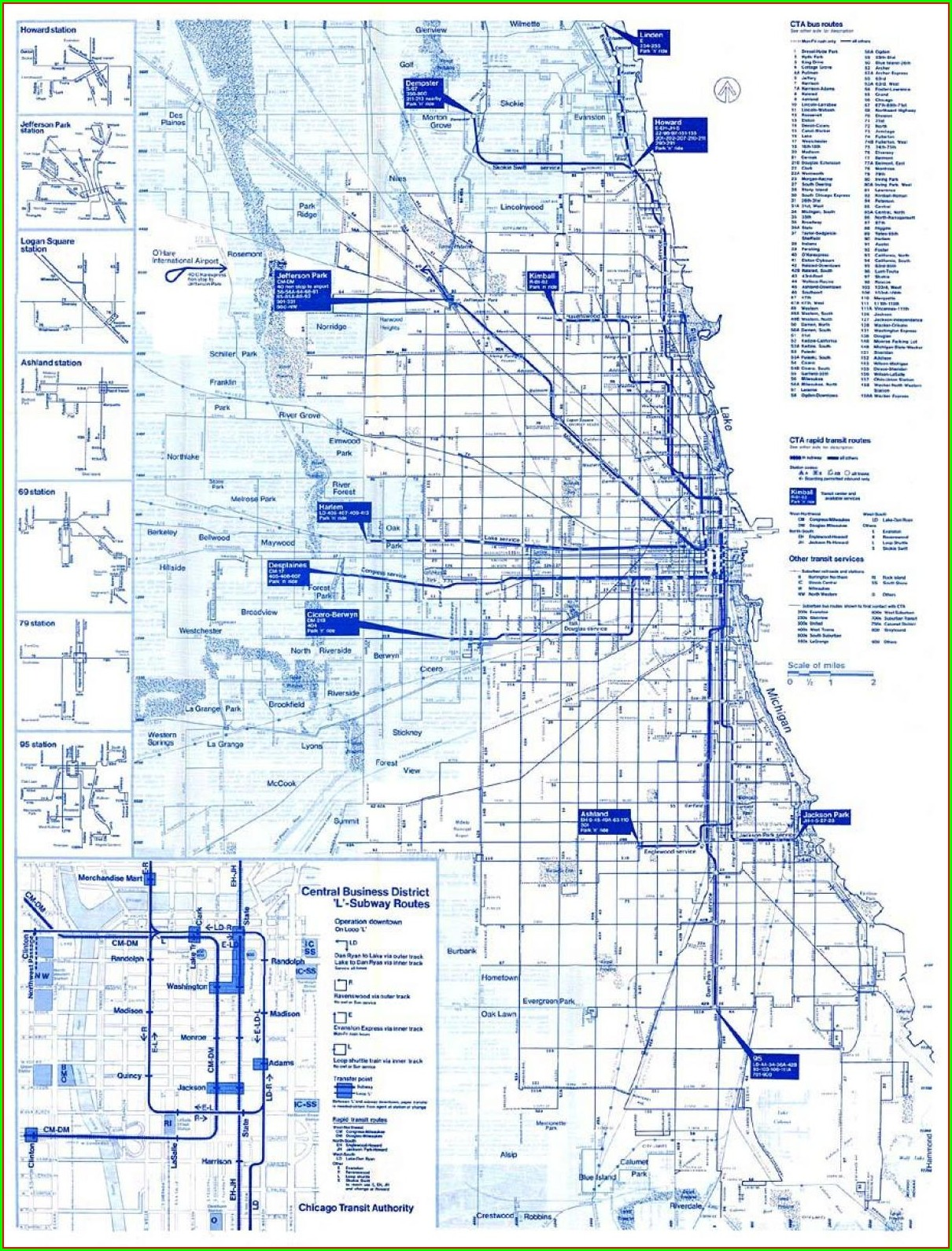 Cta Bus Route Map