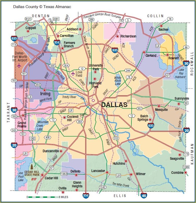 Dallas County Precinct Map 2020