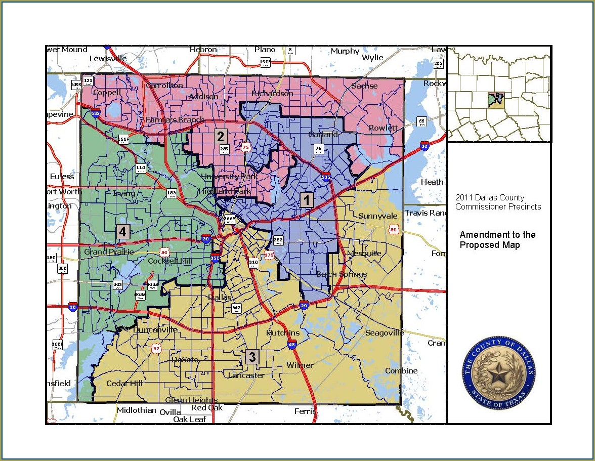 Dallas County Precinct Map