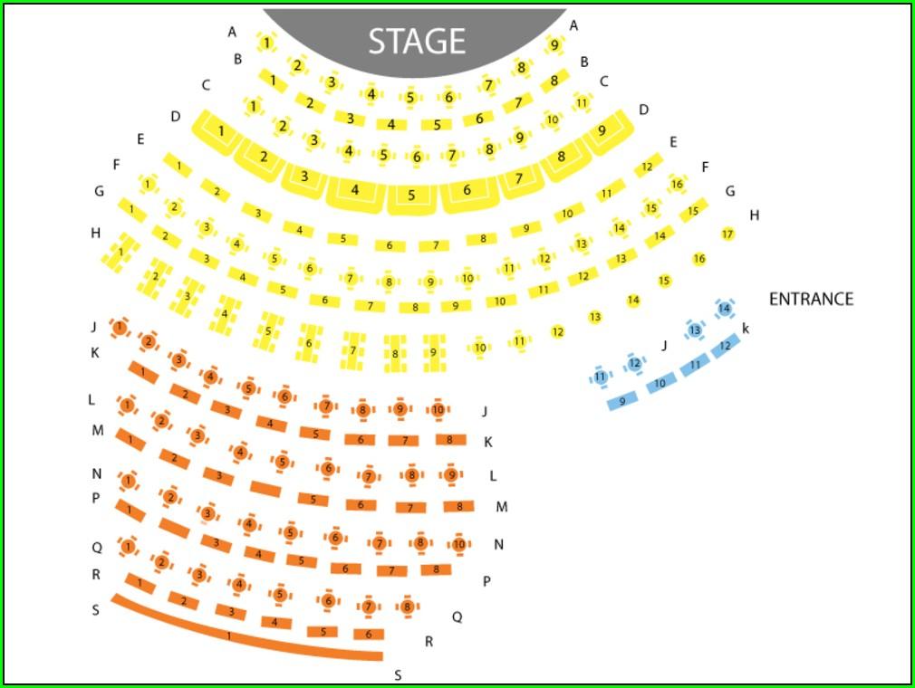 David Copperfield Las Vegas Seating Map