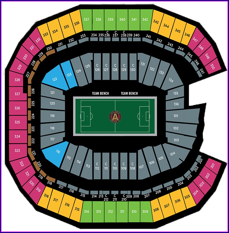 Dc United Stadium Seating Map