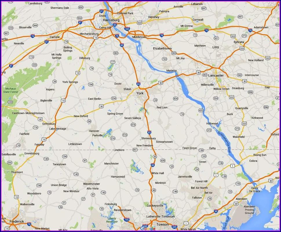 Delaware Seashore State Park Camping Map