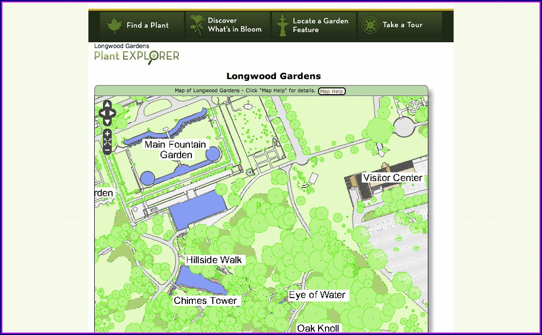 Denver Botanic Gardens Map Pdf