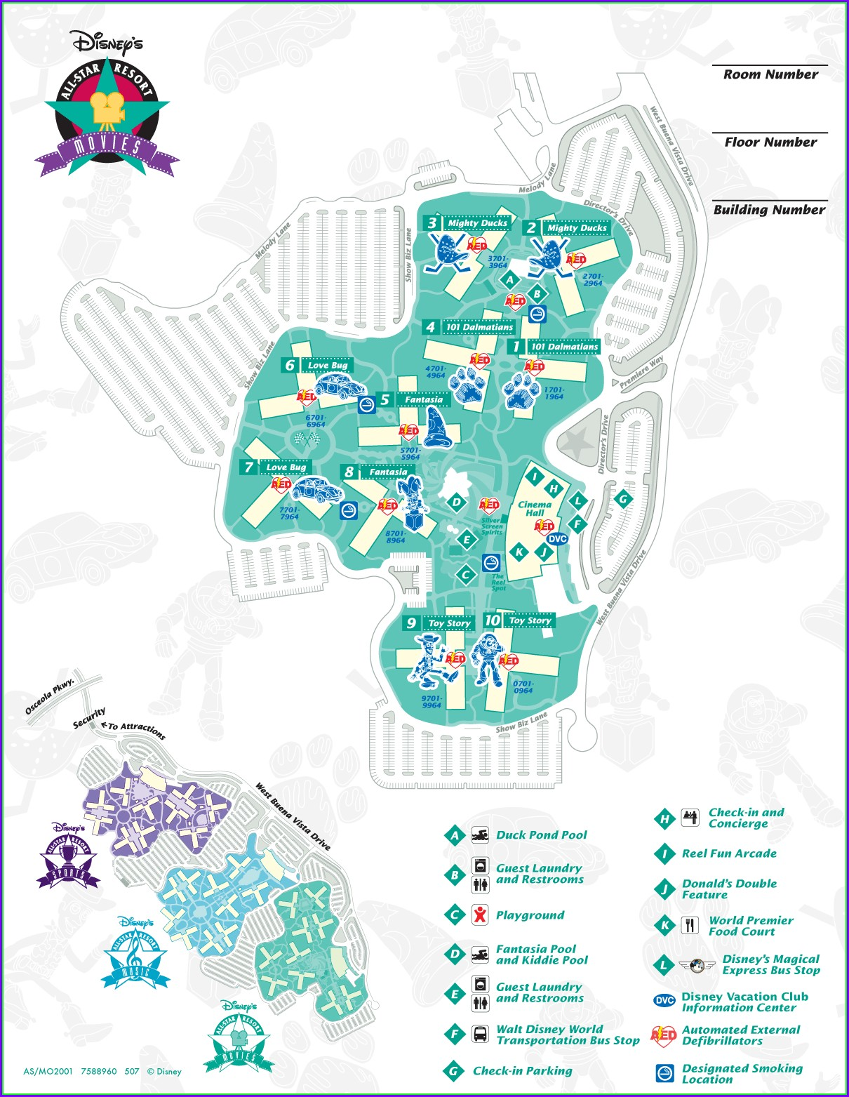 Disney All Star Sports Resort Map Pdf