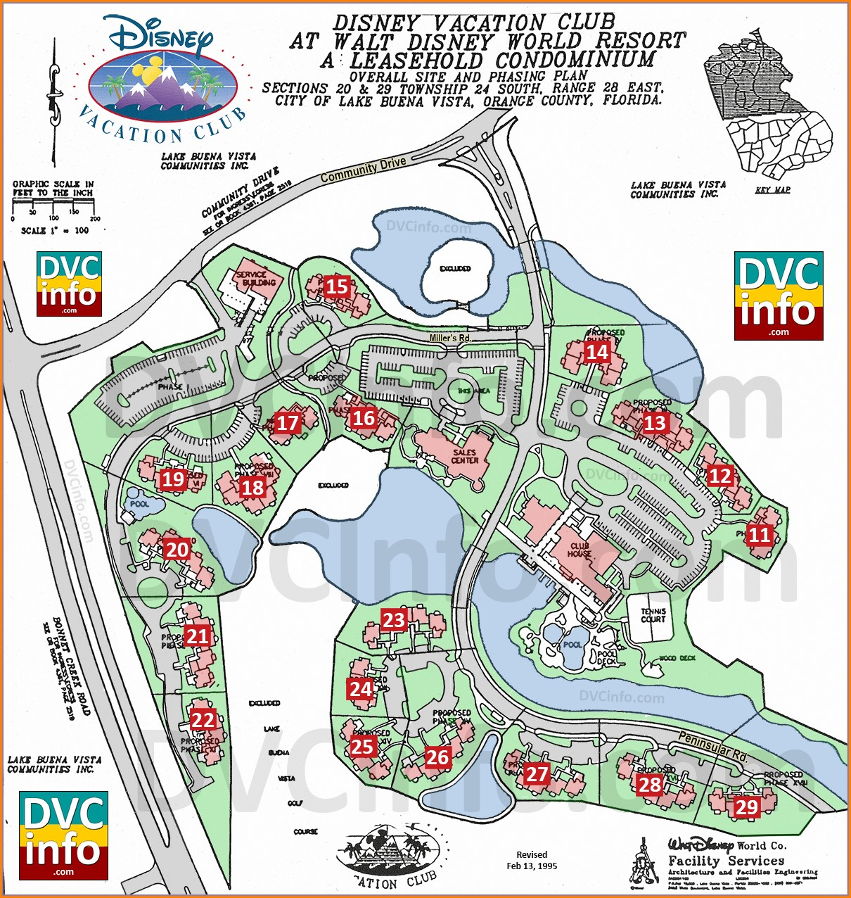 Disney Vacation Club Locations Map