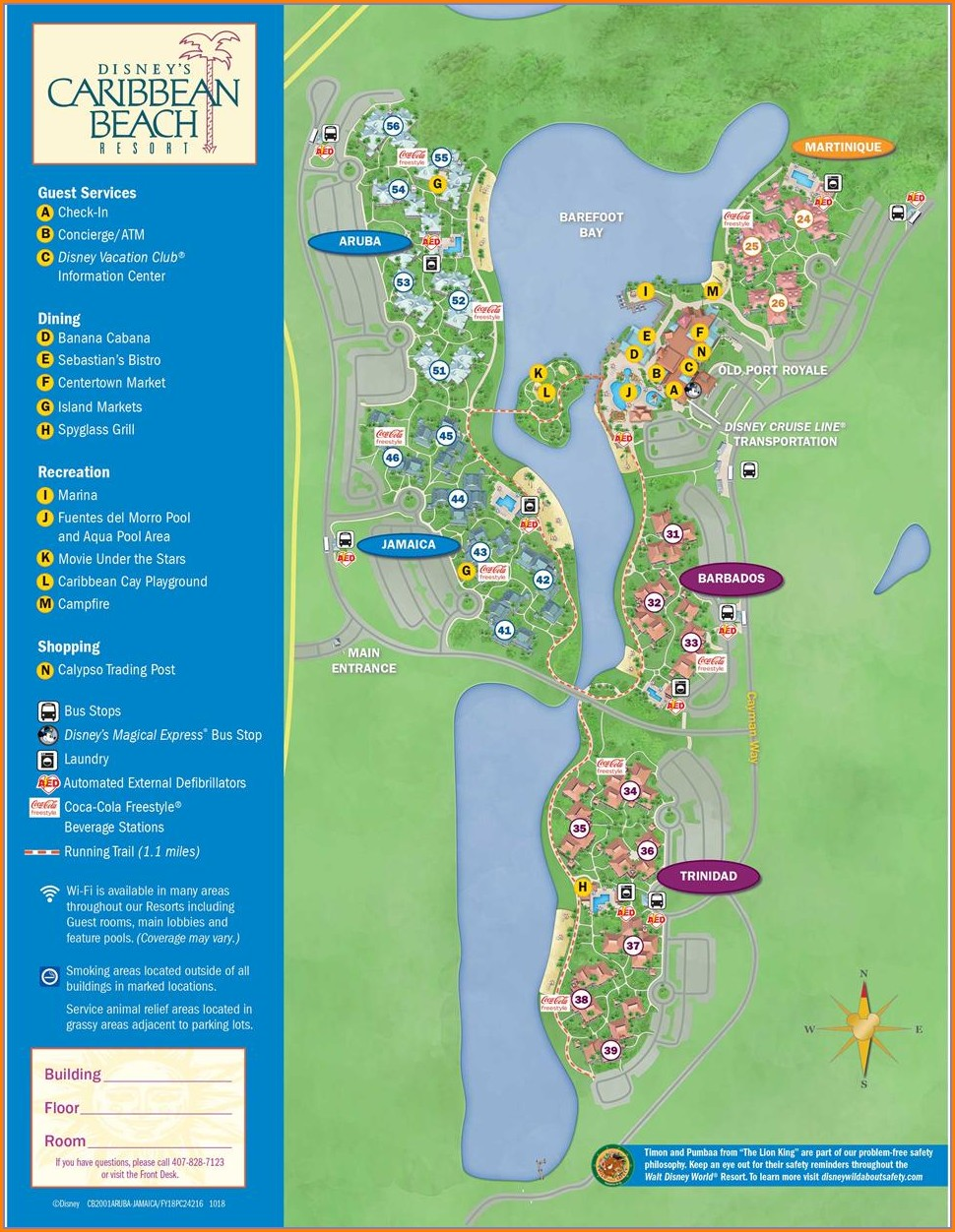 Disney World Animal Kingdom Map 2019
