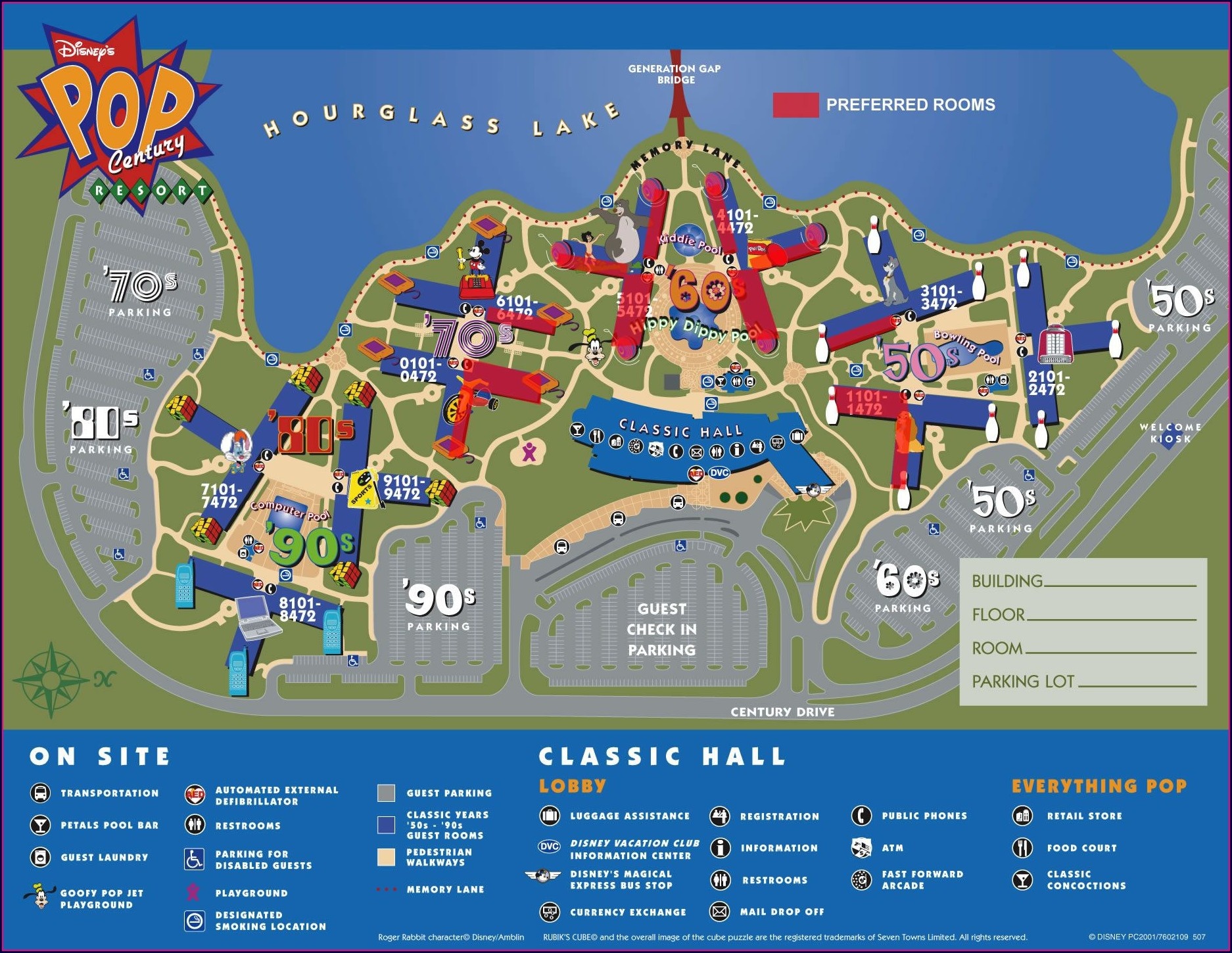 Disney World Resort Map 2018