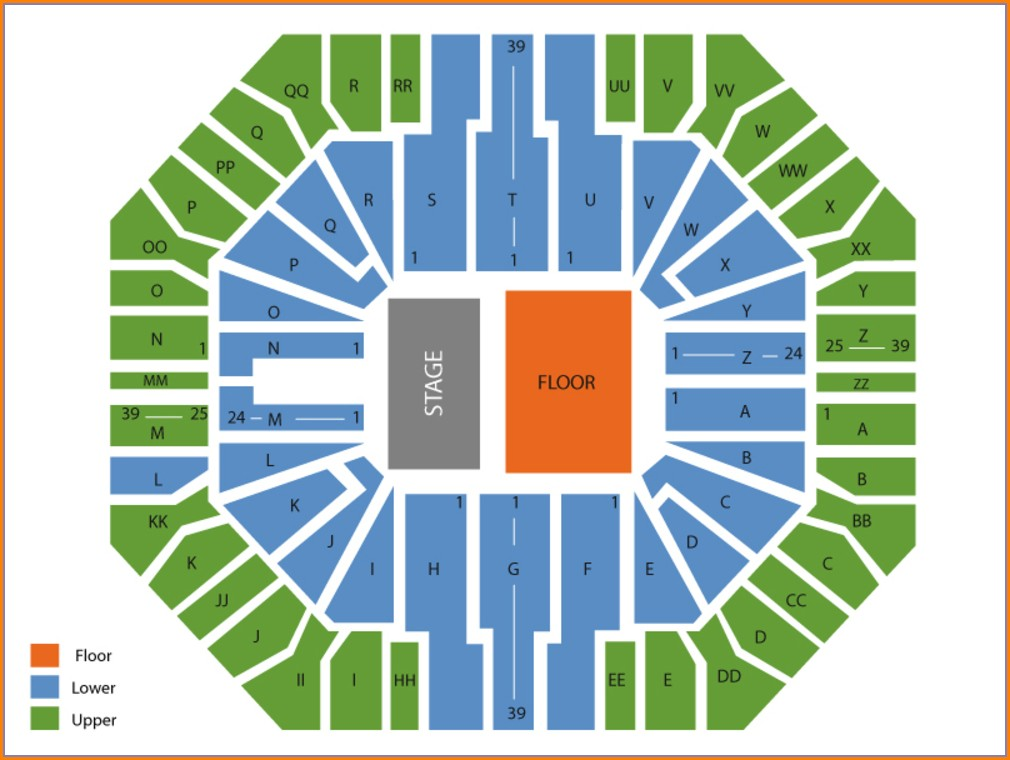Don Haskins Seating Map