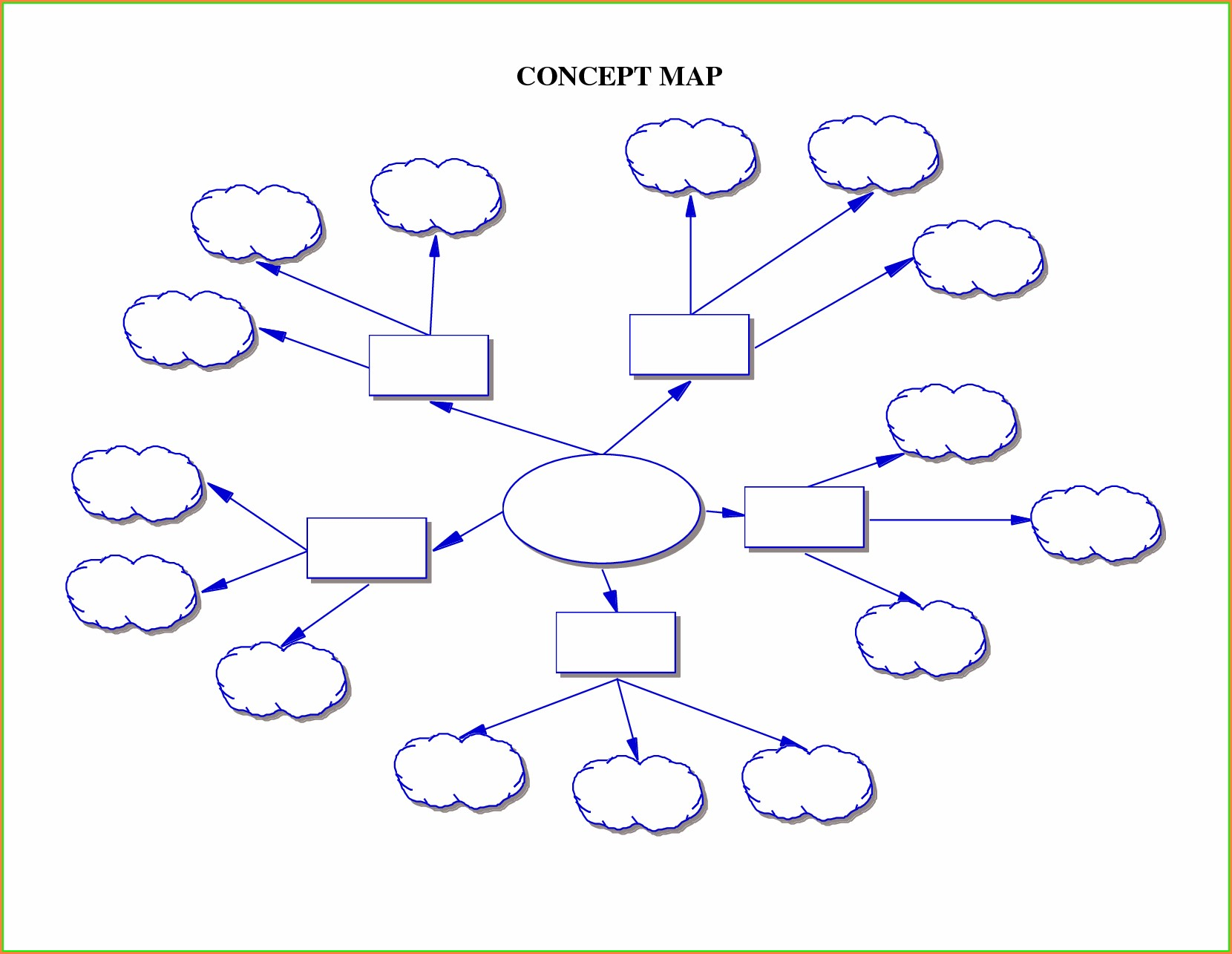 Downloadable Concept Map Template Word