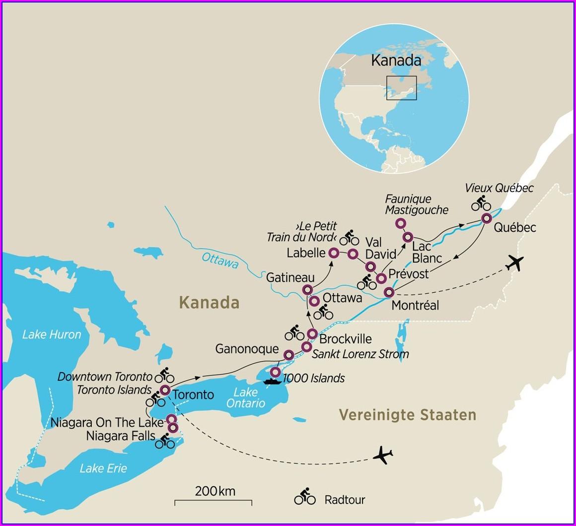 Downtown Niagara On The Lake Map