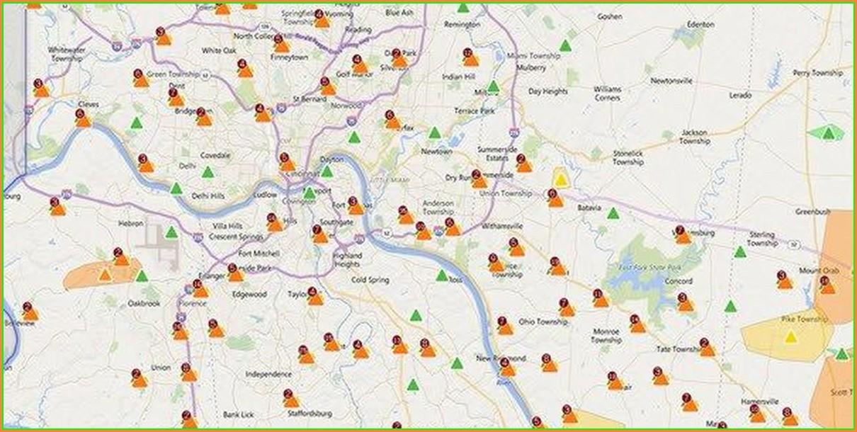 Duke Progress Outage Map