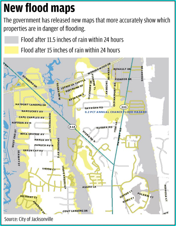 Duval County Flood Maps