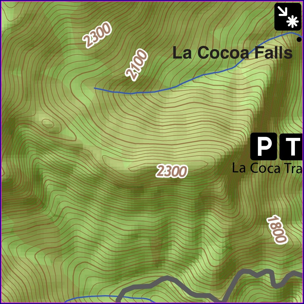 El Yunque National Forest Map