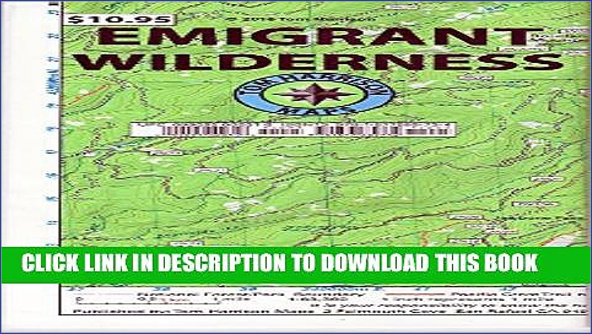 Emigrant Wilderness Map Pdf