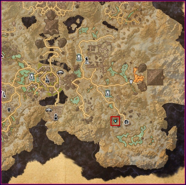 Eso Coldharbour Quest Locations Map