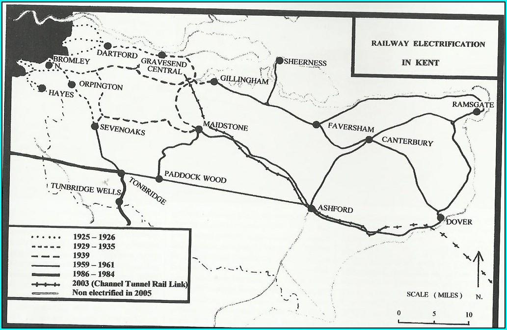 Eurostar London To Paris Route Map