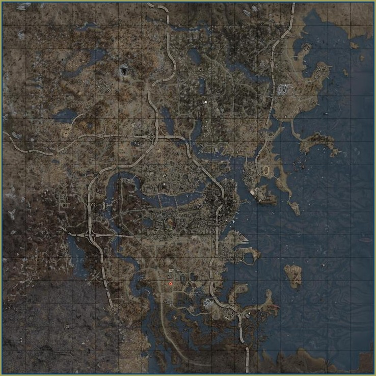 Fallout 4 Commonwealth Map