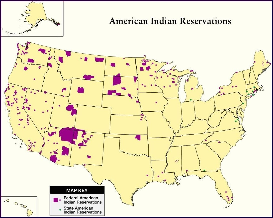 Federally Recognized Tribes Map