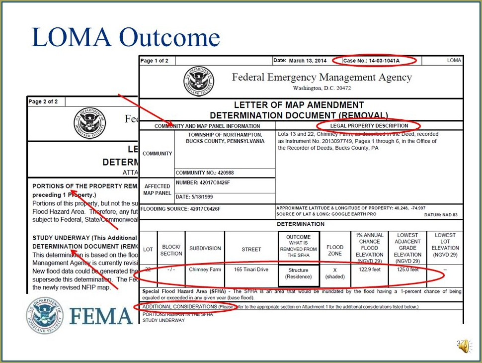 Fema Letter Of Map Amendment Process