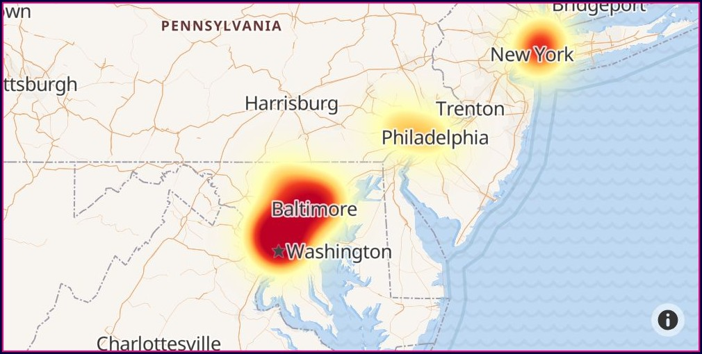 Fios Internet Outage Map