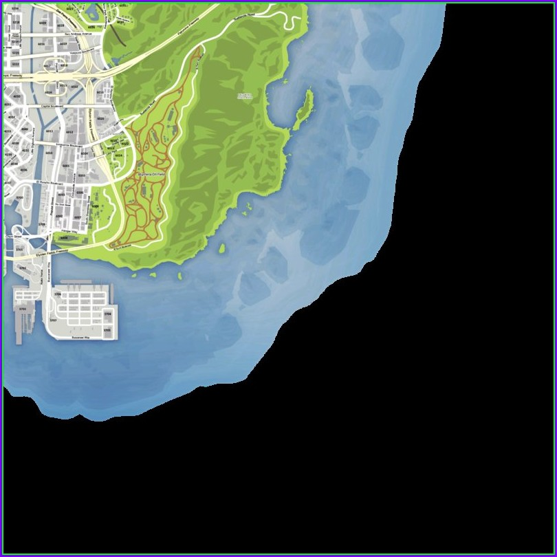 Fivem Gta 5 Map With Street Names