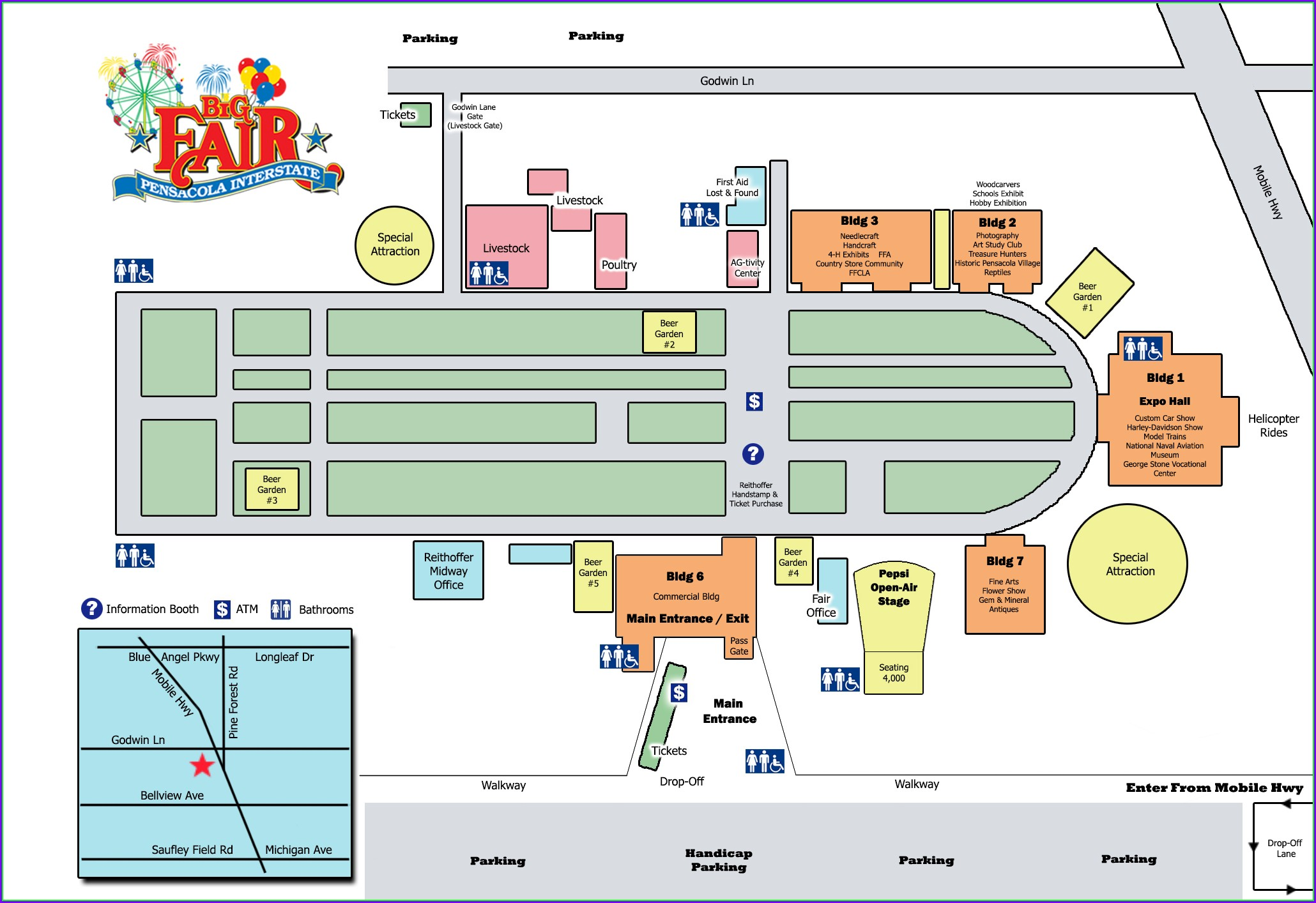 Florida State Fairgrounds Map 2019
