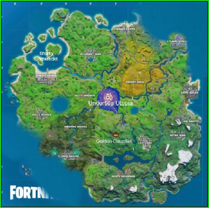 Fortnite Battle Royale Map Season 3