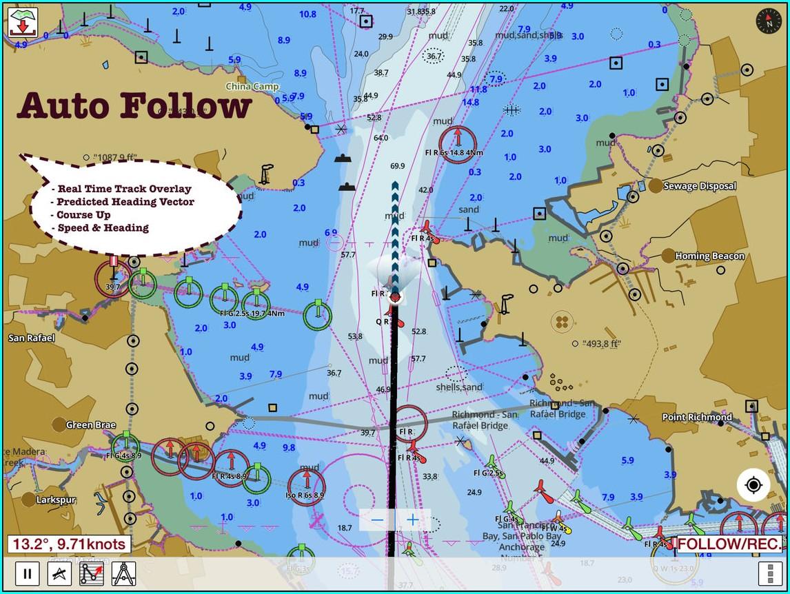 Free Lake Maps App