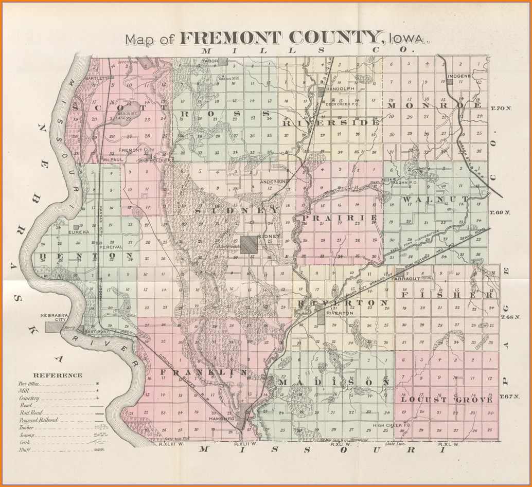 Fremont County Plat Maps