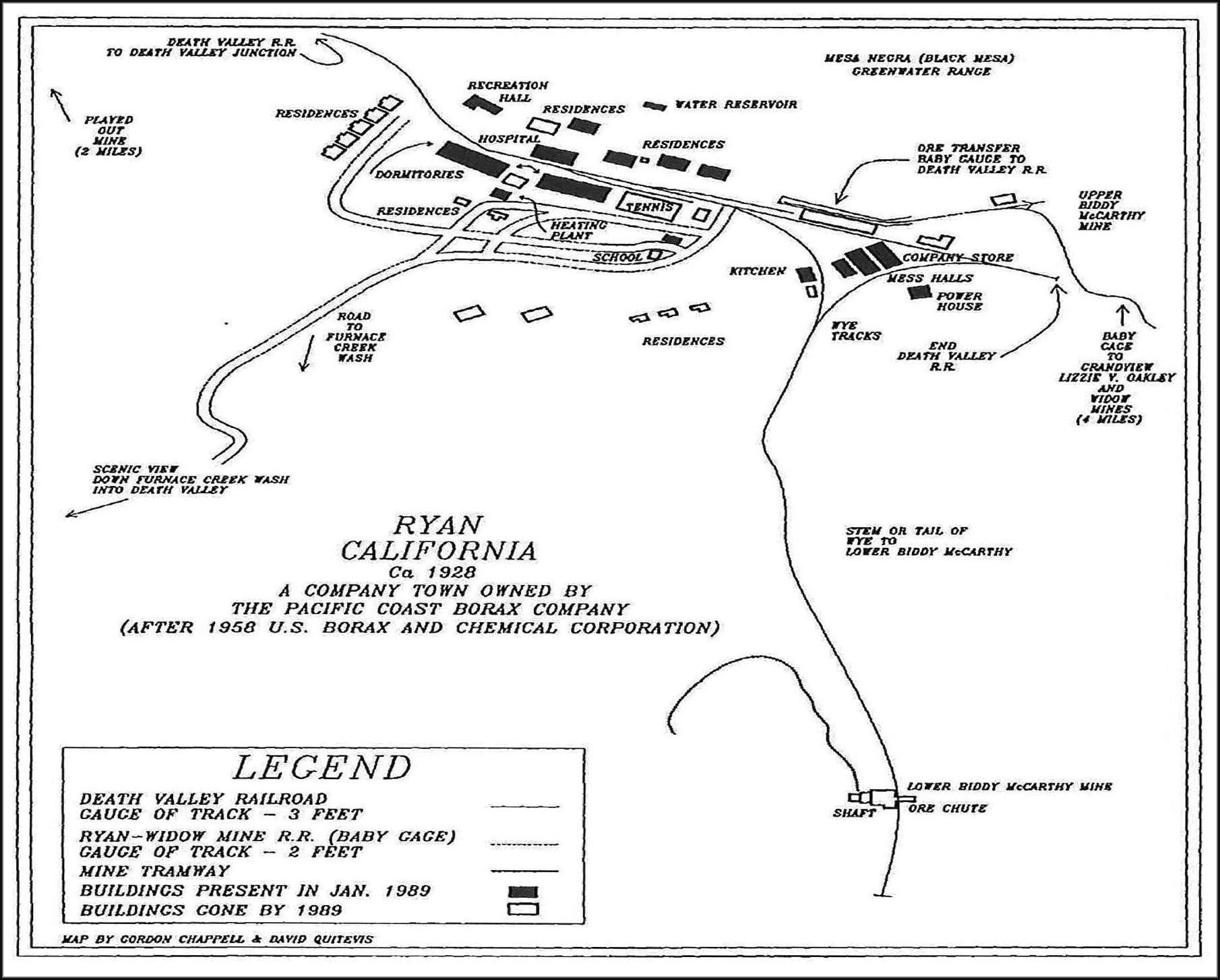Furnace Creek Campground Map Pdf