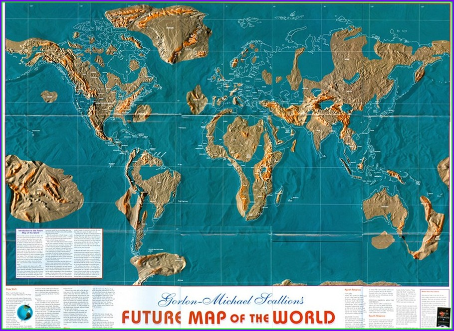 Future Edgar Cayce Map Safe Zones