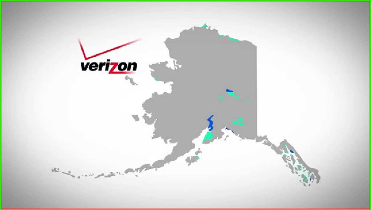 Gci Coverage Map Alaska