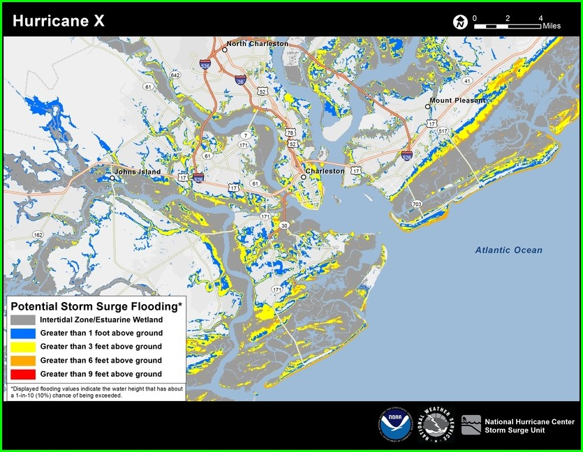 Goose Creek Sc Flood Map
