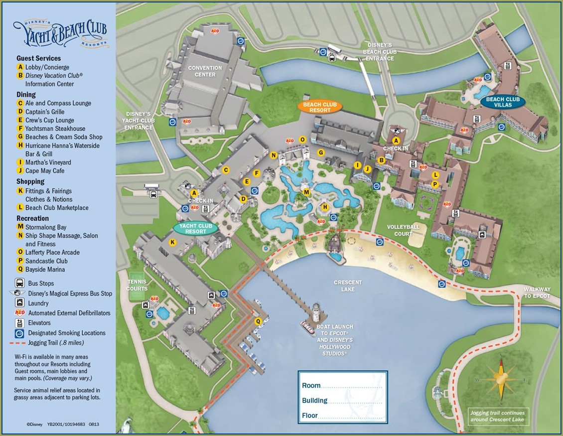 Grand Floridian Resort Map Pdf