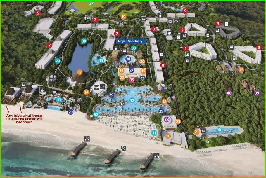 Grand Mayan Vidanta Riviera Maya Map