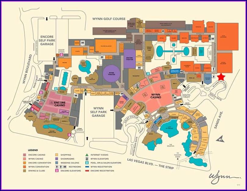 Grandview Las Vegas Property Map