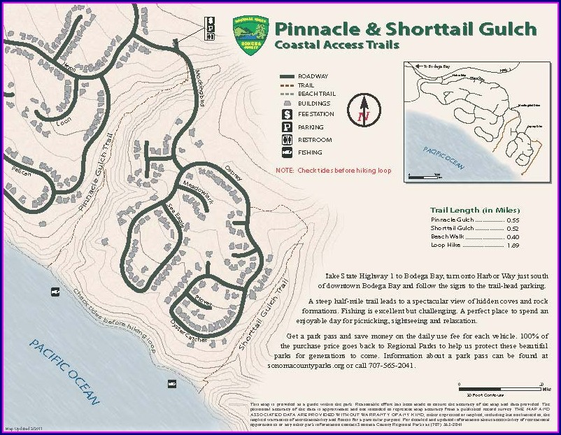 Grayton Beach State Park Site Map