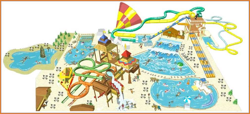 Great Wolf Lodge Concord Nc Map