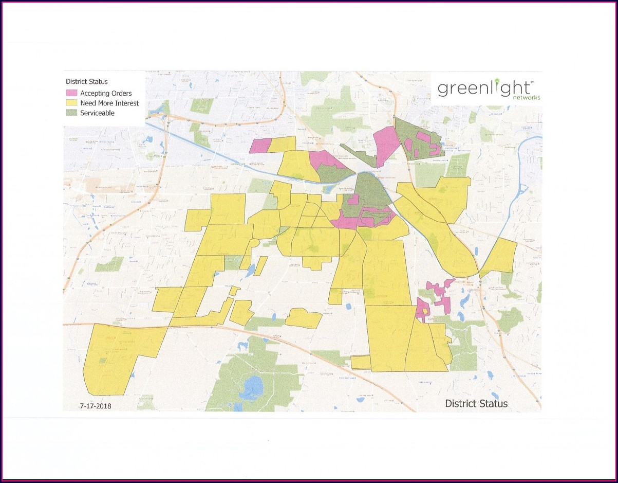 Greenlight Networks Map Rochester