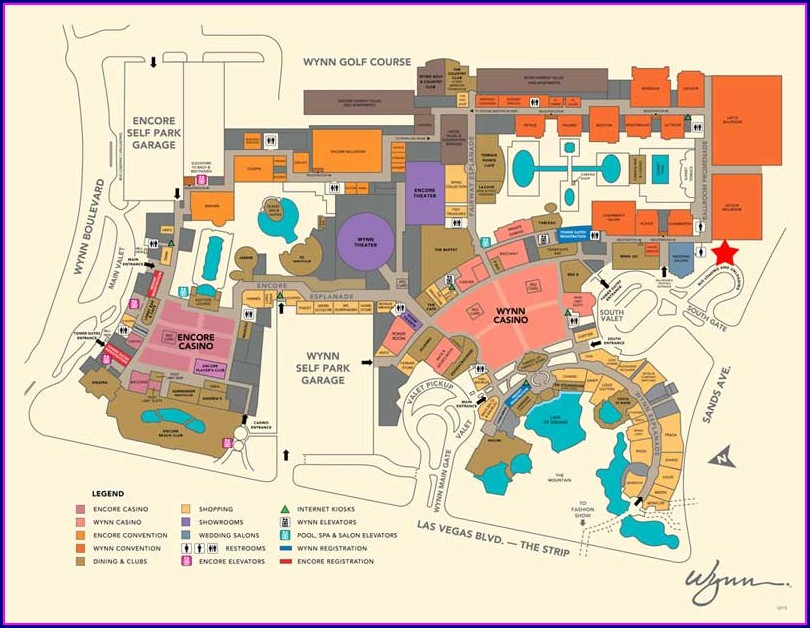 Grounds Grandview Las Vegas Map