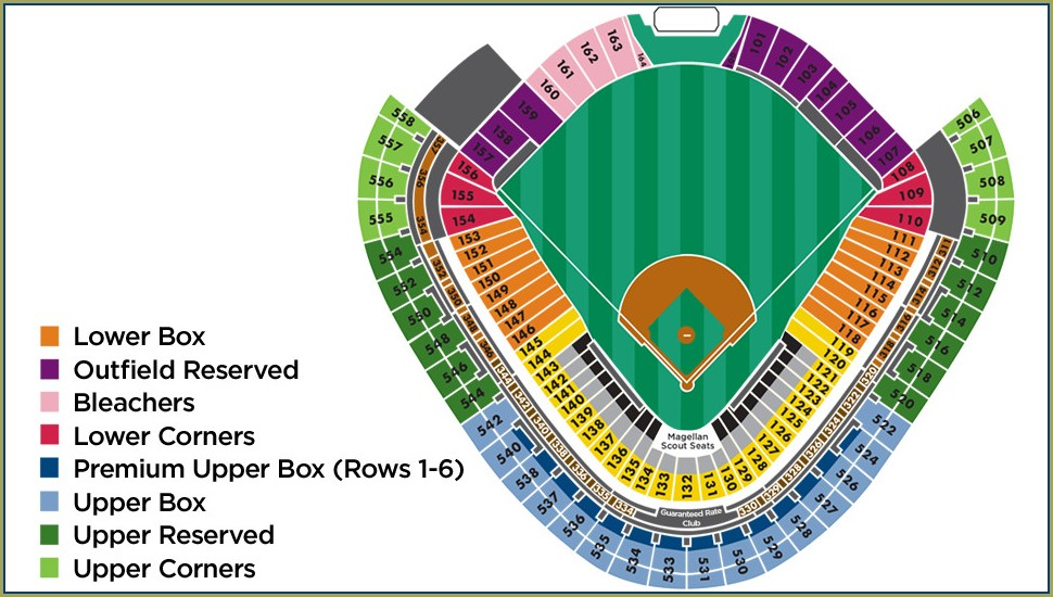Guaranteed Rate Field Gate Map