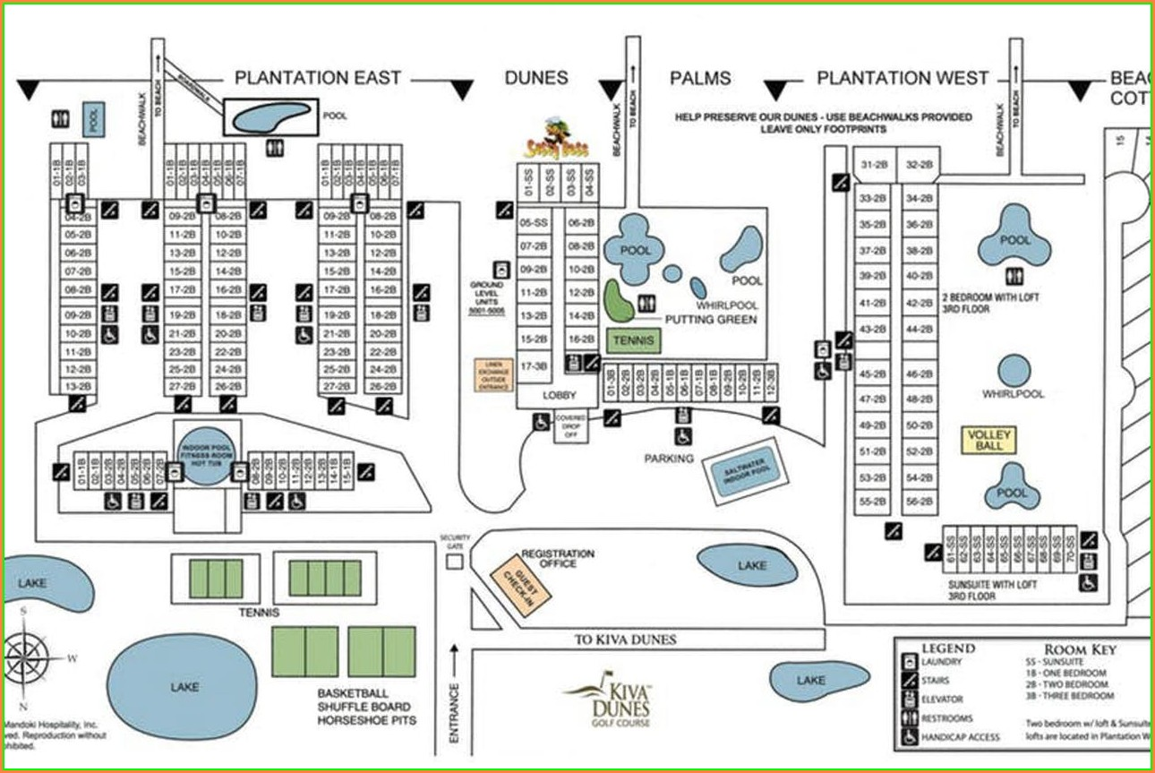 Gulf Shores Plantation Resort Map