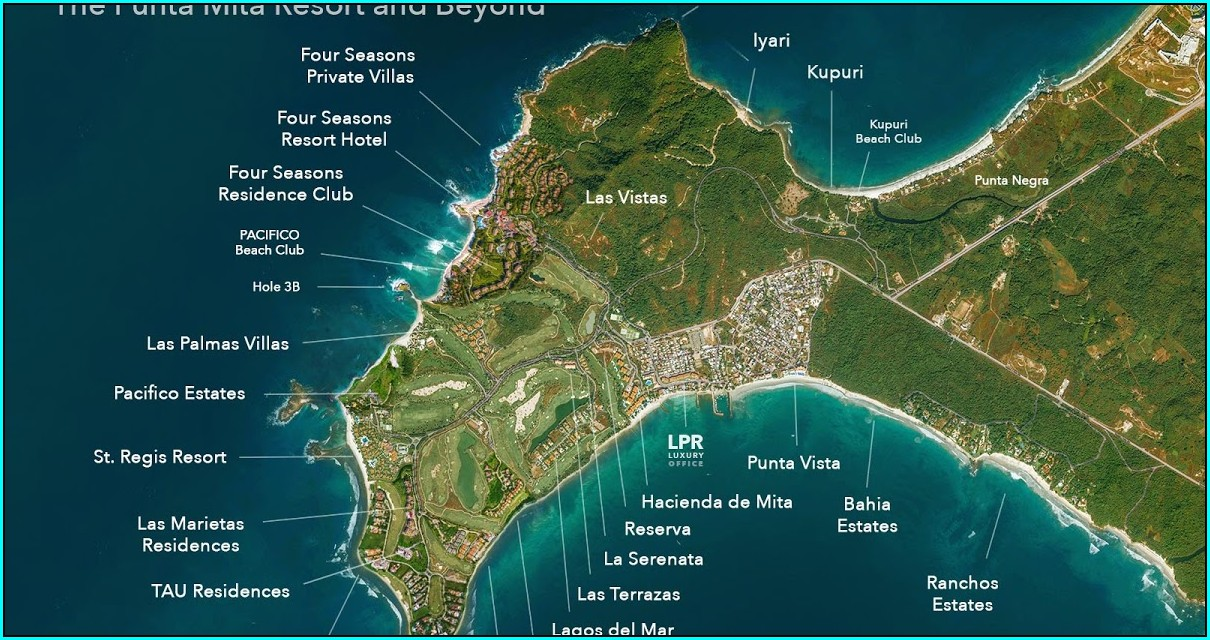 Hacienda De Mita Map