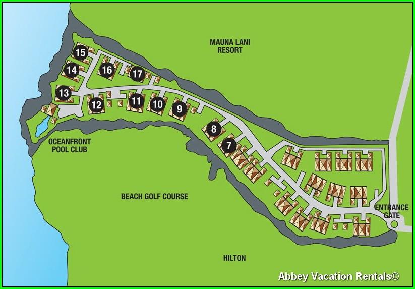 Halii Kai At Waikoloa Map