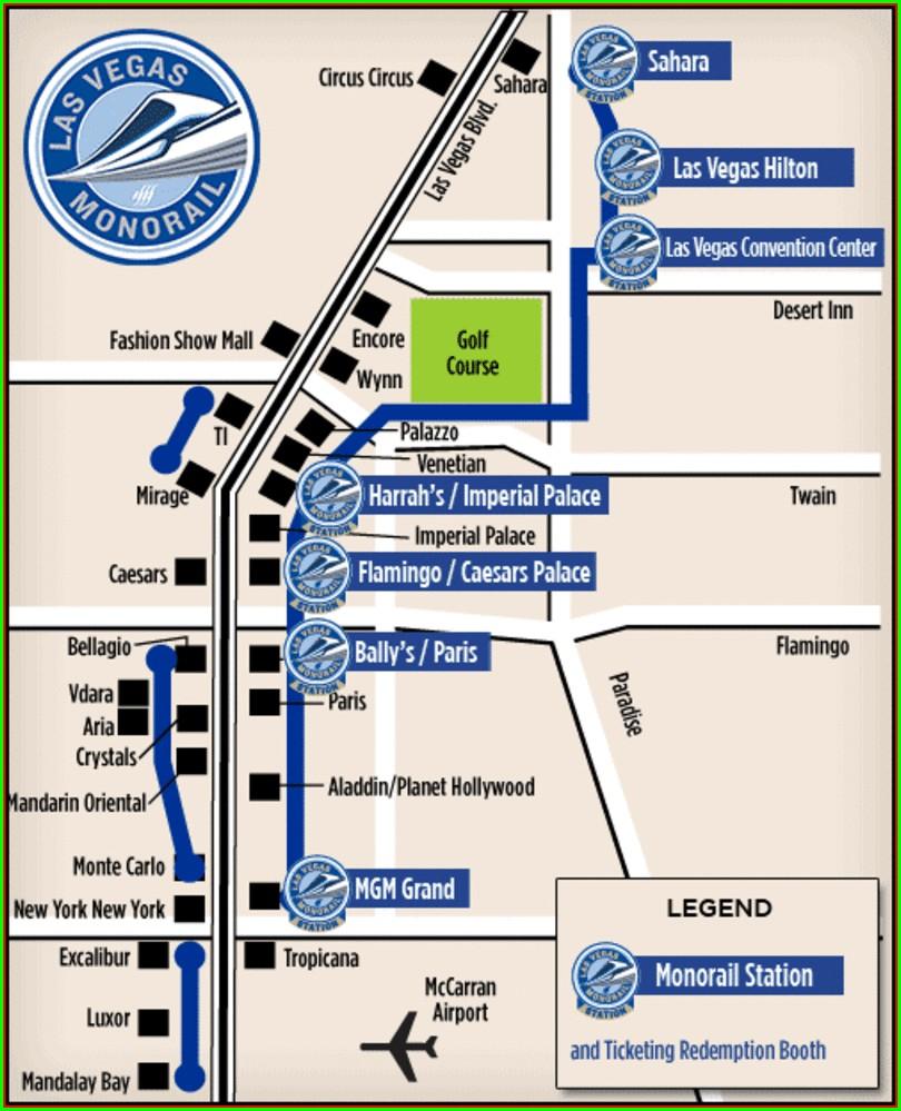 Harrahs Las Vegas Casino Map